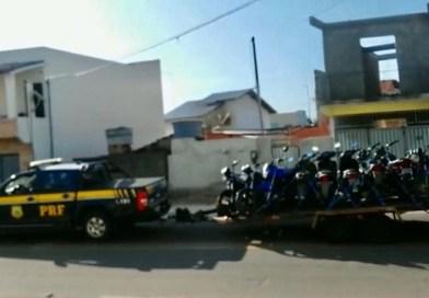 PRF apreende treze motocicletas em SJB