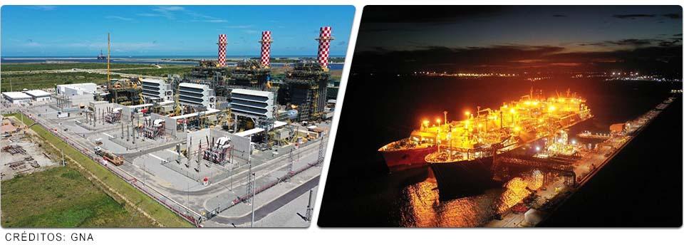 Aneel autoriza início de operação em testes da termelétrica GNA I, no Porto do Açu