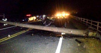 Duas pessoas morrem e cinco ficam feridas em acidentes na Campos x Farol e Grussaí