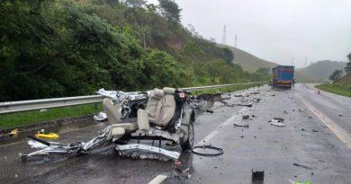 Grave acidente na BR-101 mata médico cardiologista