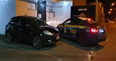 PRF prende homem suspeito de estelionato, em Campos