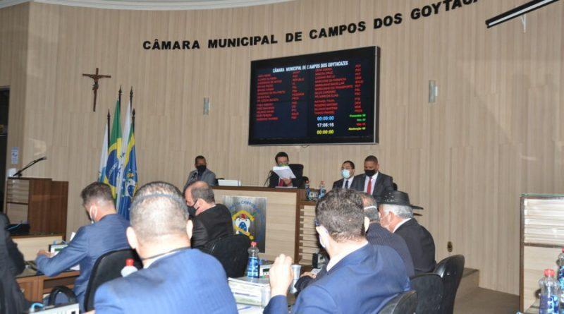 Vereadores de Campos aprovam Banco de Ideias Legislativas e Abril Azul