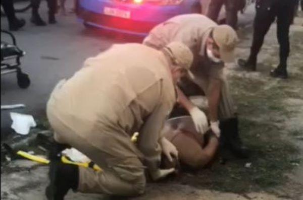'Dentinho' é assassinado a tiros dentro de carro no Parque Aurora