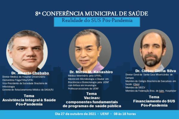 Campos promove Conferência Municipal de Saúde nesta quarta-feira