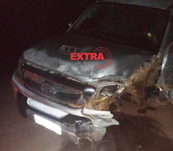Colisão entre carros deixa um morto na BR-435 em Cerejeiras