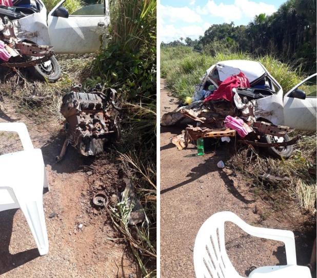 Vítimas de acidente na BR-364 próximo a Porto Velho são identificadas; idoso está em estado grave