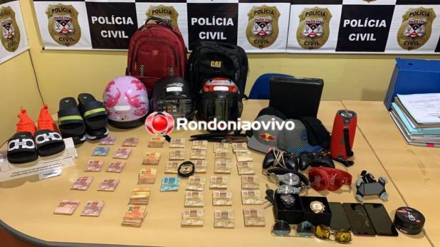 Polícia Civil prende acusados de matarem comerciante em Porto Velho