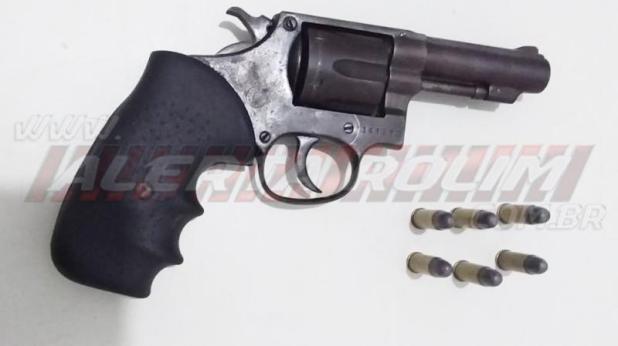 Idoso de 93 anos é detido armado com revolver e faca dentro do hospital municipal de Rolim de Moura