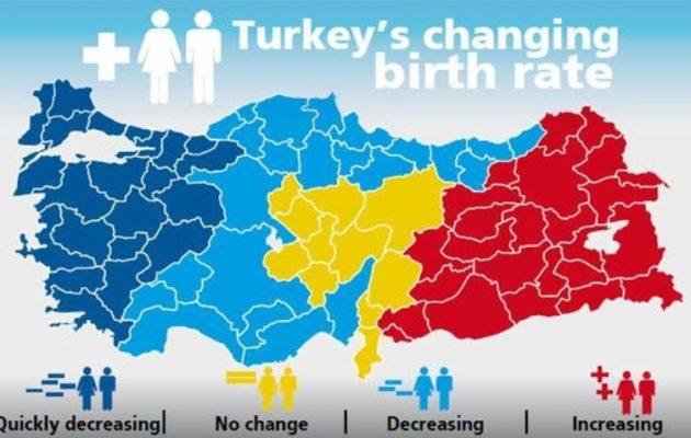 Δείτε γιατί αυτός ο χάρτης προβλέπει το τέλος των Τούρκων