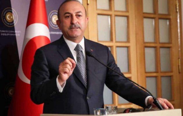 Τσαβούσογλου: Η Τουρκία δεν θα περιοριστεί μόνο στις ακτές του Αιγαίου και της Αν. Μεσογείου