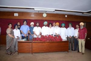 Syndicate Meeting of Guru Nanak Dev University