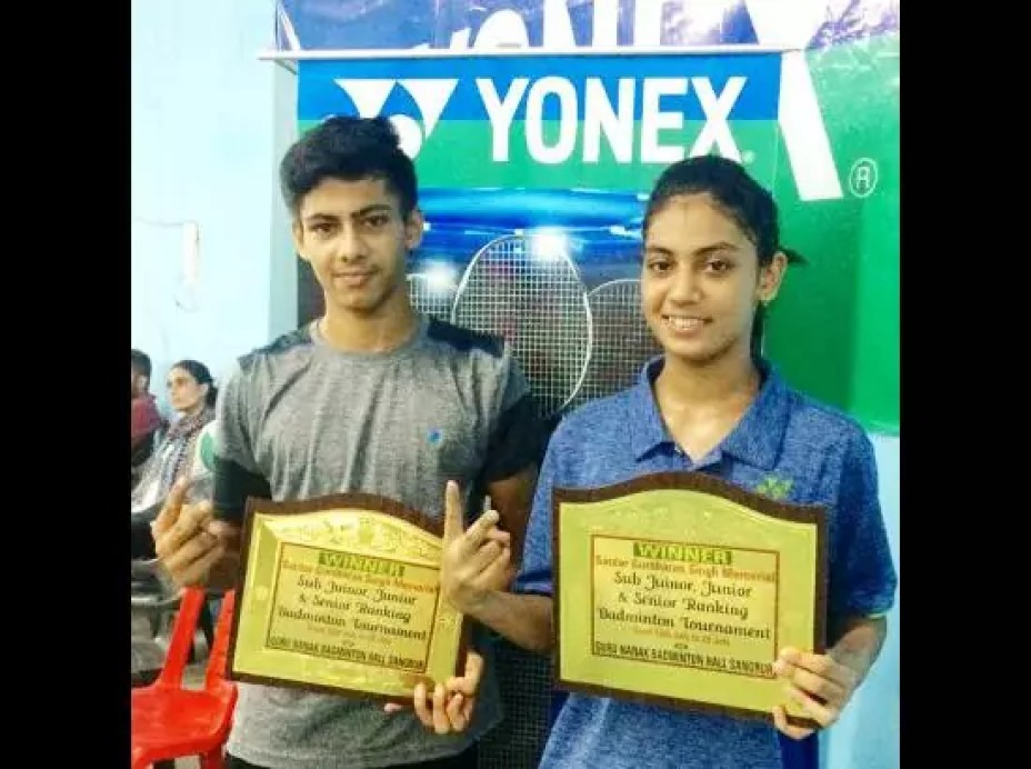 Satvir Kaur wins Gold Medal in Badminton Open Ranking Championship