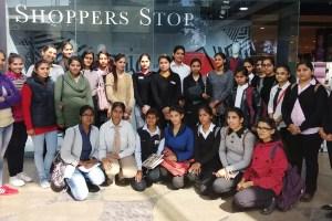 KMV Students Visit Shoppers Stop, Jalandhar