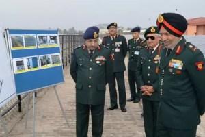 Lt Gen Surinder Singh inaugurates 2 MW Solar Power Plant at Chandimandir