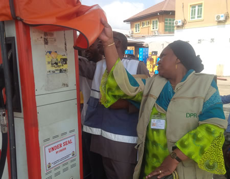 Image result for DPR seals filling stations for flouting safety standards in Ogun