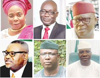 Image result for Ekiti 2018 contenders