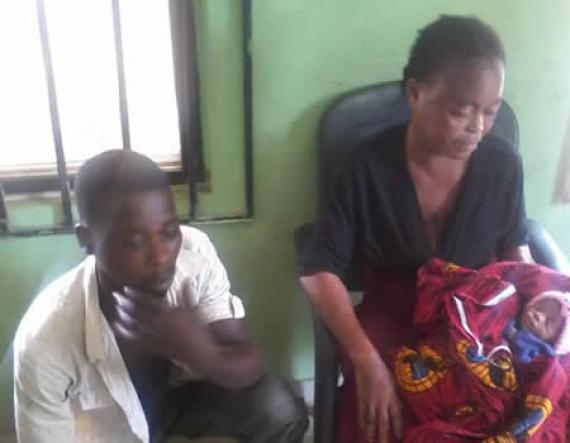 Photo: Couple arrested for selling their 3-day old baby for N300,000 in Anambra