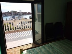 Apartment A3 - view from bedroom at sea