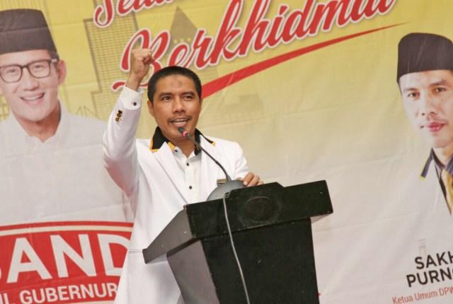 Direktur Pencapresan Partai Keadilan Sejahtera (PKS) Suhud Alynudin