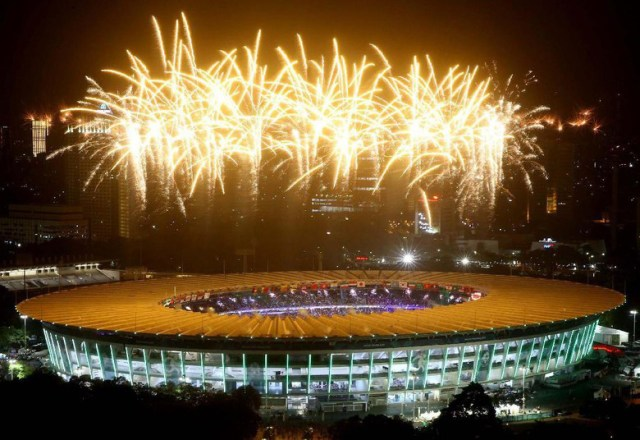 Kemeriahan penutupan Asian Games 2018