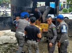 Bir yang diamankan Satpol ketika operasi miras di Tambusai dan Tambusai Utara