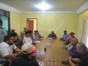 LAMR Dumai beserta perwakilan OKP dan LSM duduk bersama dengan Management Comforta