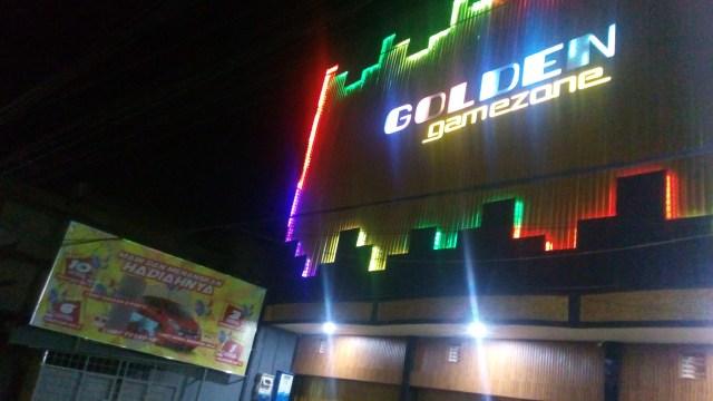 Penampakan Golden Gamezone di Jalan Sultan Hasanuddin (Foto: Infestigasi.com)