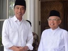 Presiden dan Wakil Presiden Terpilih, Jokowi dan Ma'ruf Amin