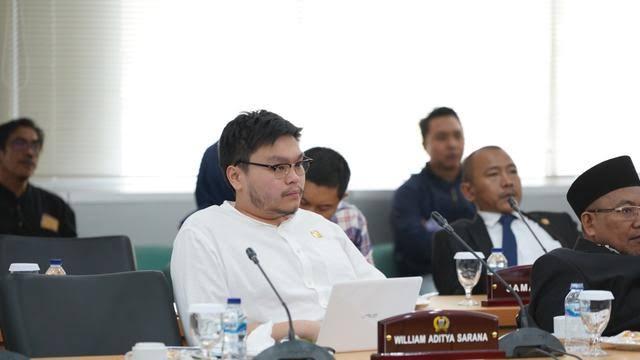 Anggota DPRD dari Fraksi PSI William Aditya Sarana