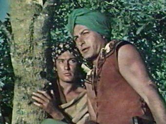 Franco Balducci nel ruolo di Kammamuri e Lex Barker nel ruolo di Tremal-Naik