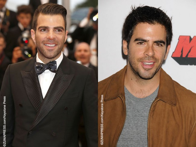 Zachary Quinto and Eli Roth      Celebrity Gossip and Movie News Zachary Quinto and Eli Roth