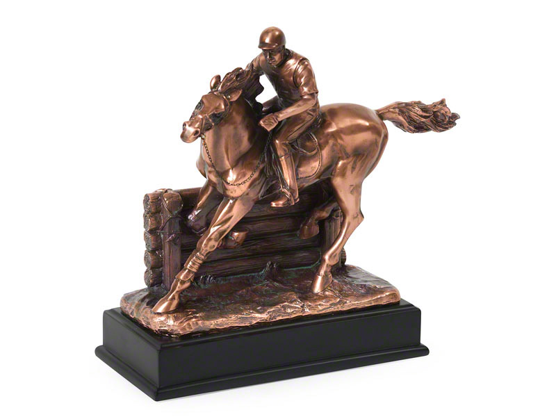 "Horse Keepsake Urn ""Eventer"""