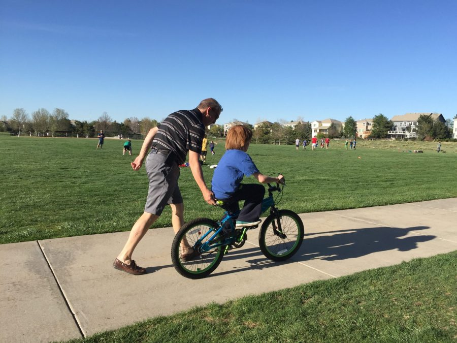Two Boys, Two Bikes, Two Dads