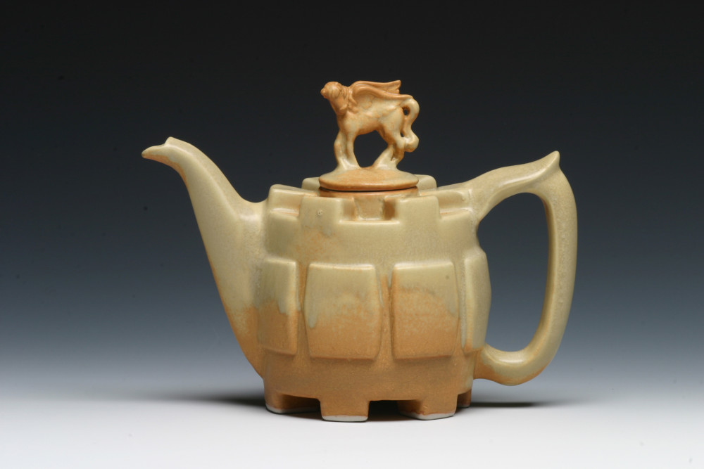 Golden Pegasus Teapot | Tricia Ree McGuigan