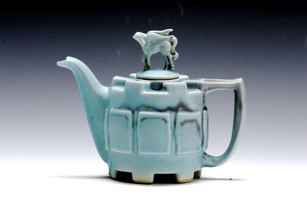 Sand Castle Teapot | Tricia Ree McGuigan