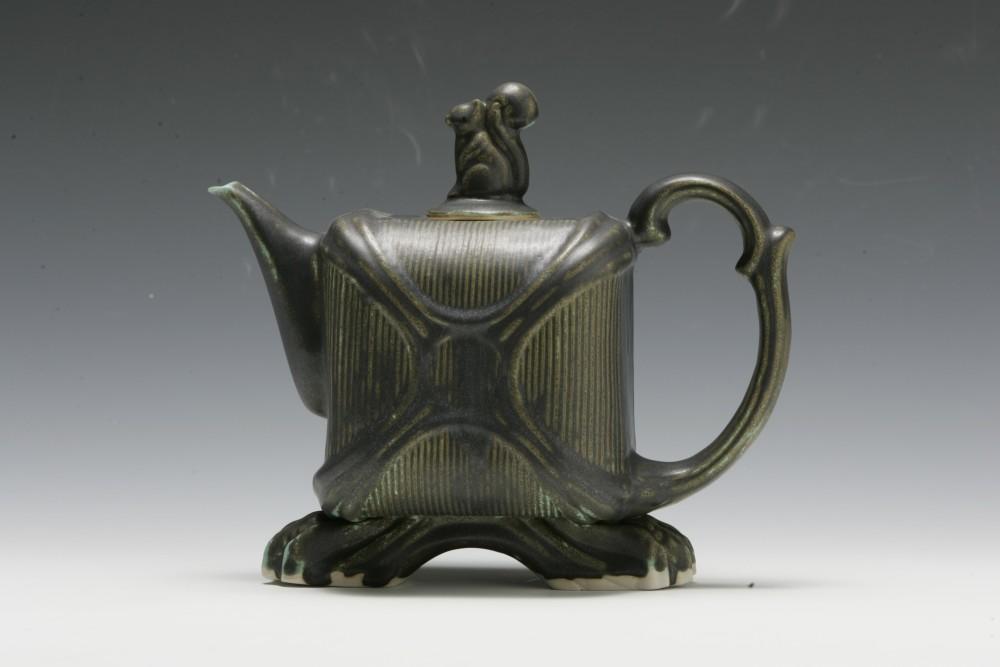 Large Squirrel Teapot | Tricia Ree McGuigan