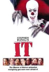 "Stephen King -- ""IT"" book movie logo"