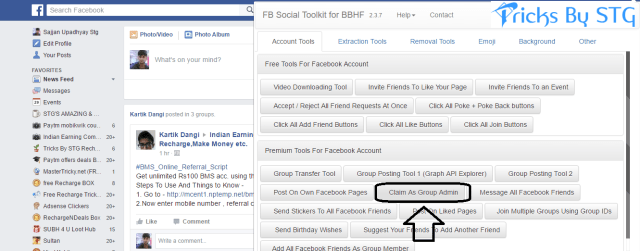 Download Toolkit for Facebook Premium Version Free - How To