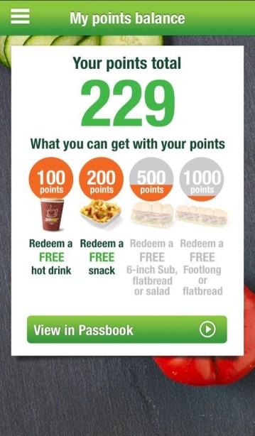 subway rewards register