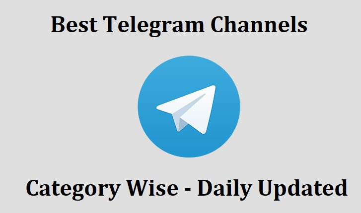 New Best Telegram Channels Collection Category Wise