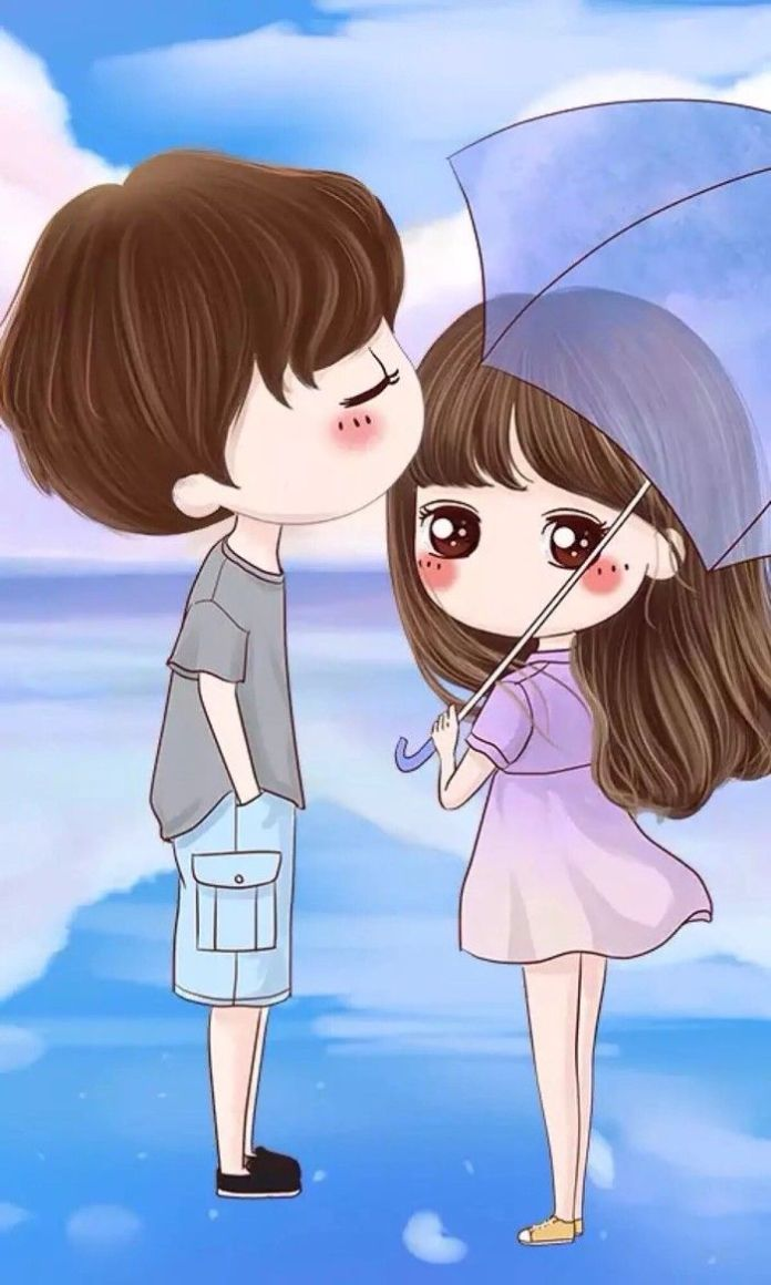 Cute love couple images animated - Love cartoon hd ...