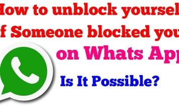 How To Unblock In Whatsapp When Someone Blocked You