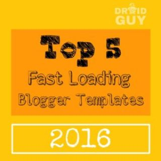 super fast loading blogger templates 2016