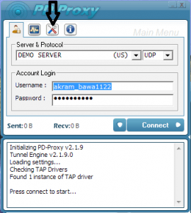 PD PROXY VPN: TOOL TO FIND OPEN UDP/TCP PORTS