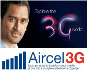 ENJOY FREE 3G ON AIRCEL FROM 6 AM TO 9AM IN MANY STATES