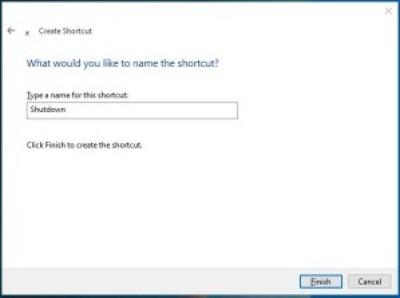 Shutdown Name