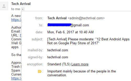 Gmail New Mail
