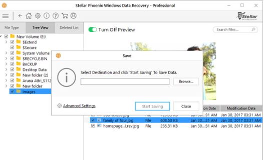How to recover lost data - partition from Windows system 5