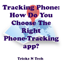 Tracking phone app