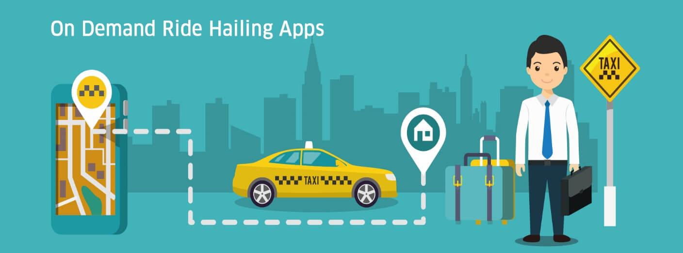 On Demand Ride Hailing Apps